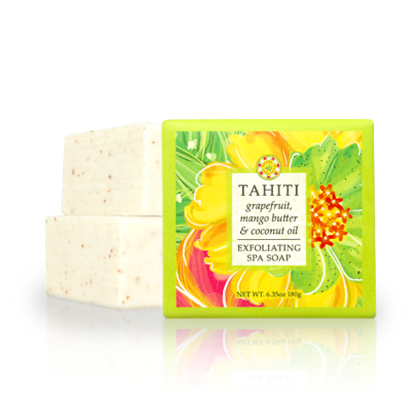 Destination Spa Soap in Tahiti Grapefruit