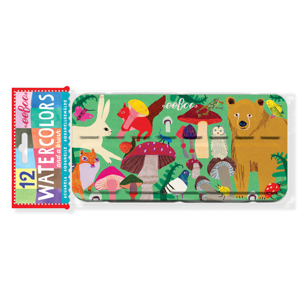 Eeboo Watercolor Tin Set