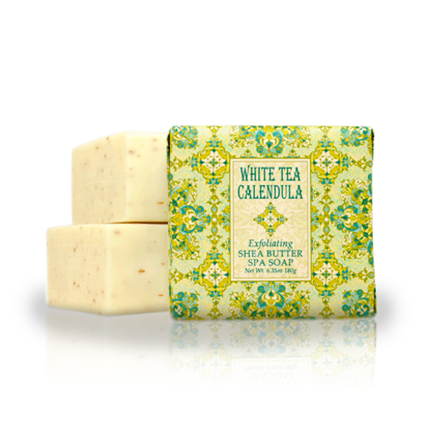 Botanicals Scents Soap in White Tea Calendula