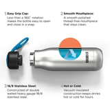 Zoku Stainless Steel Bottle