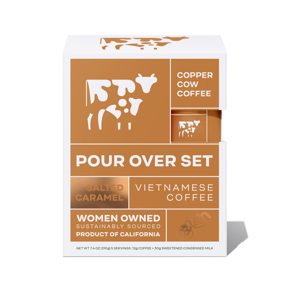 Copper Cow Coffee - Salted Caramel | 5 Pack