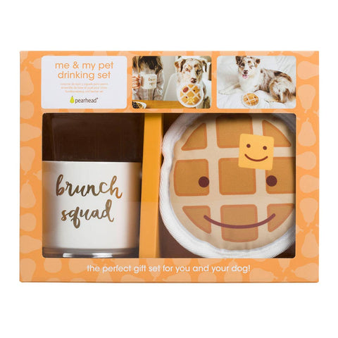 Brunch Squad Owner/Pet Gift Set