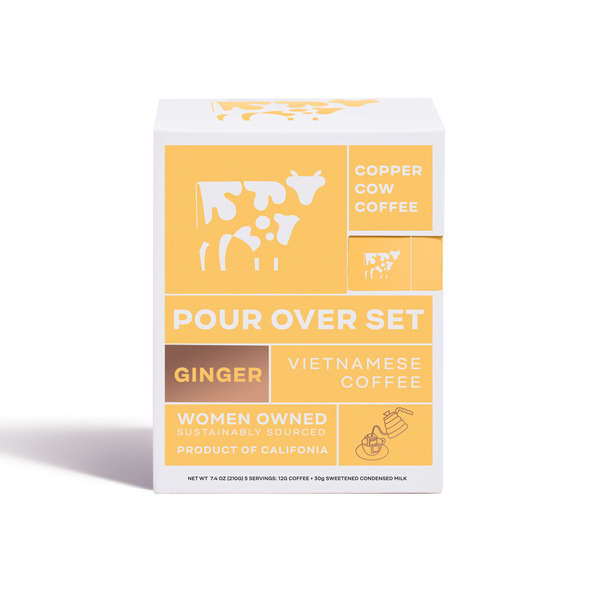 Copper Cow Coffee - Ginger Latte | 5-Pack