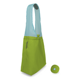 green flip and tumble reusable shopping bag
