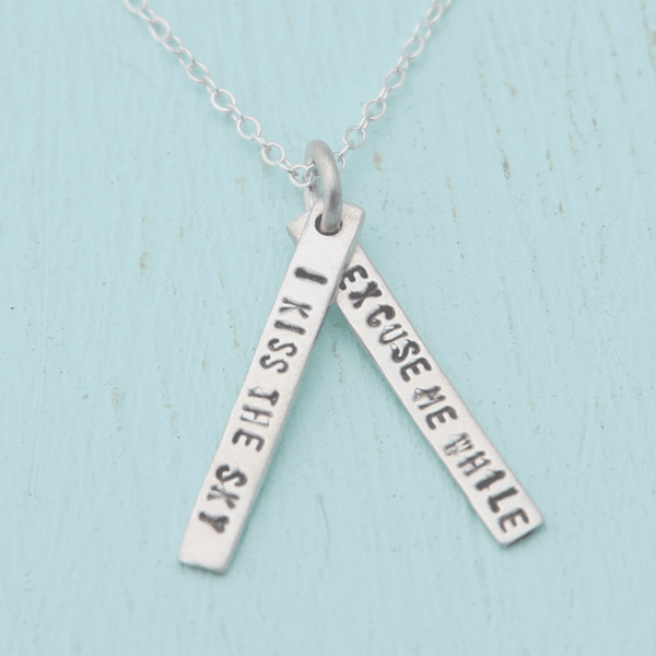 Necklace Quote by Jimi Hendrix