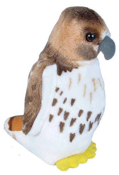 Audubon II Red-tailed Hawk Stuffed Animal with Sound