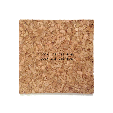 Mistaken Lyrics Coaster - Cat Spa (Rock the Casbah)