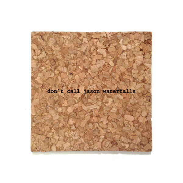 Mistaken Lyrics Coaster - Jason (Waterfalls)