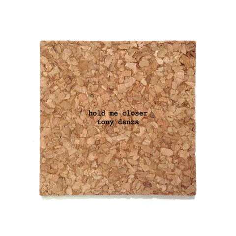 Mistaken Lyrics Coaster - Tony Danza (Tiny Dancer)