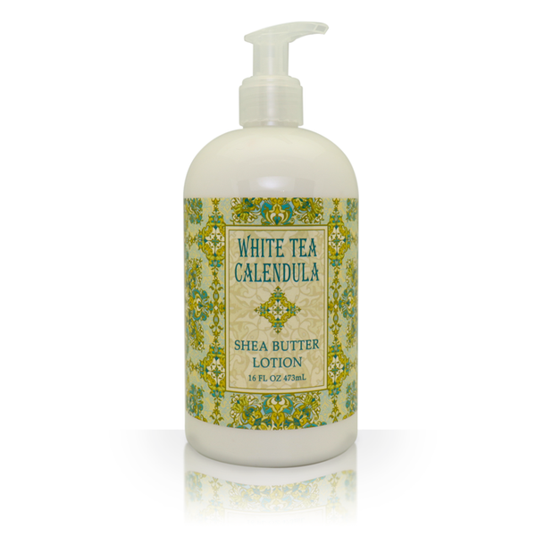 Shea Butter Lotion in White Tea Calendula