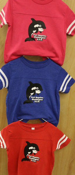 TODDLER ORCA FOOTBALL JERSEY