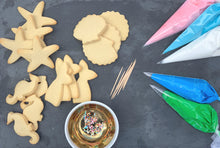Load image into Gallery viewer, Mermaid Cookie Decorating Kit