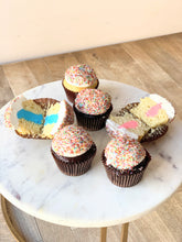 Load image into Gallery viewer, Gender Reveal Cupcakes