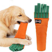Ihrtrade Carrot Shape Dog's Chew Toy Plastic Bottle Cover