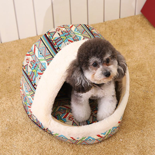Ihrtrade Comfortable Print Kennel Mat For Pet Puppy (2 colors)
