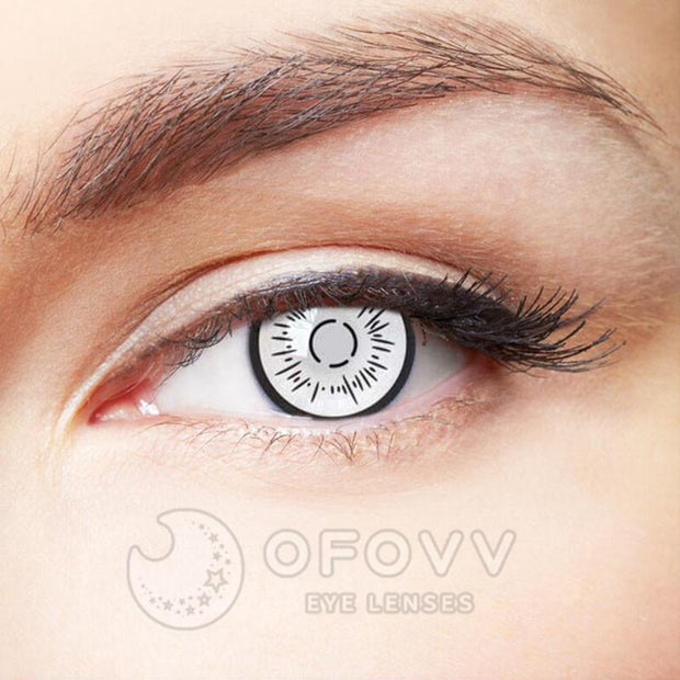 Ofovv® Cheap Prescription Byakugan Boruto Special Effect Colored Contact Lenses Online Store(1 YEAR)
