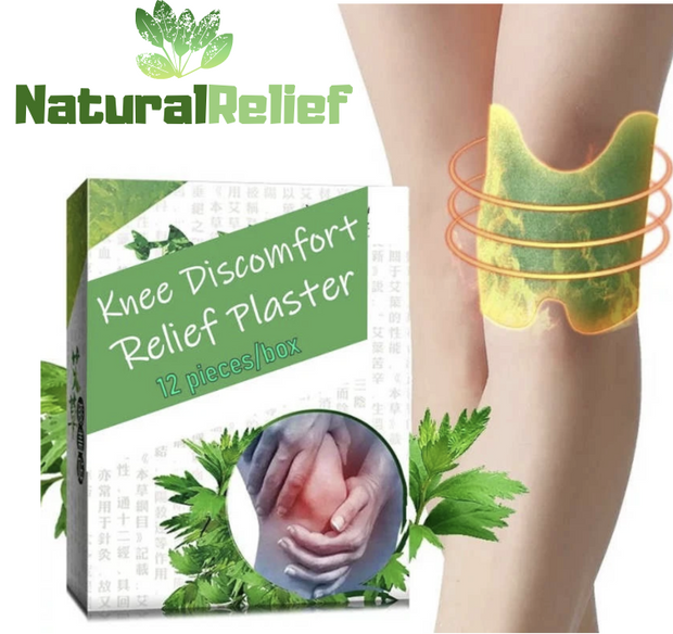 NaturalRelief™️ Knee Discomfort Relief Plaster - Official Retailer