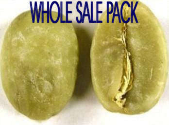 Green Coffee Bean Whole Sale Pack (Premium Quality)