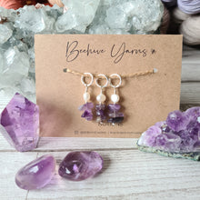 Load image into Gallery viewer, Crystal Visions Stitchmarker Set ~ select your crystal