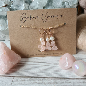 Crystal Visions Stitchmarker Set ~ select your crystal