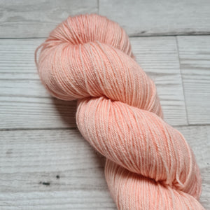 Peach Moonstone - Audrey - Classic Sock