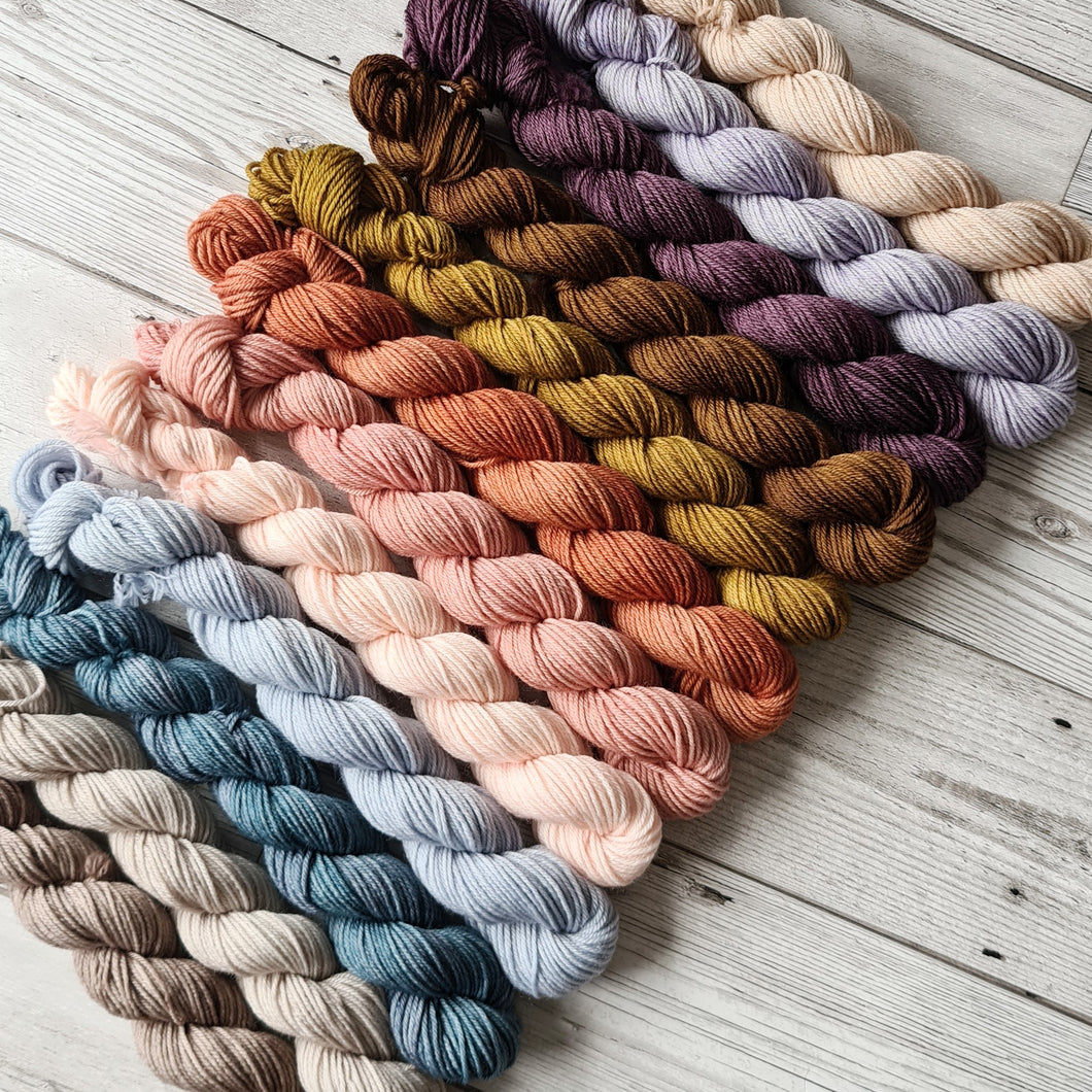 Spring Tonal Mini Skeins
