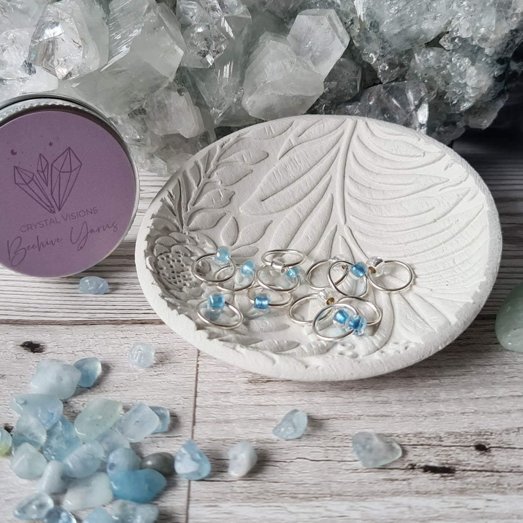 Crystal-Inspired Stitchmarkers