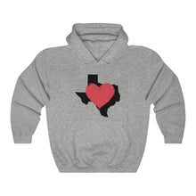 Load image into Gallery viewer, Love Texas Hooded Sweatshirt