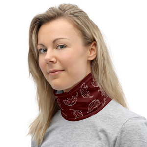 A&M Maroon Armadillo Neck Gaiter