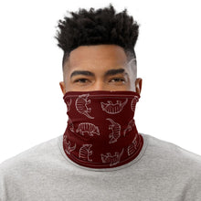 Load image into Gallery viewer, A&M Maroon Armadillo Neck Gaiter