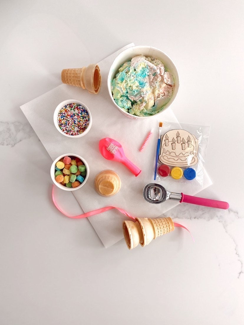 Birthday Ice Cream Sundae Kit