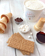 Load image into Gallery viewer, S'mores DIY Ice Cream Kit