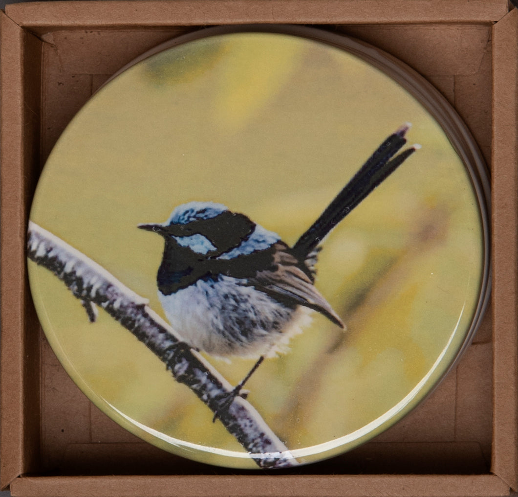 Coasters - Blue Wren