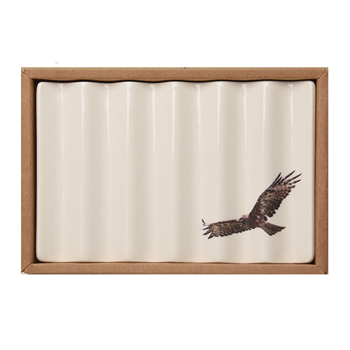 Soap Dish with Wedge Tailed Eagle