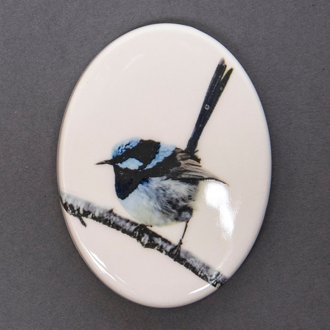 Fridge Magnet - Blue Wren