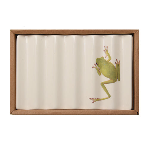 Soap Dish with Frog