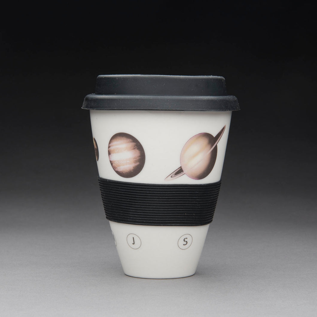 Porcelain Travel Cup - Our Solar System
