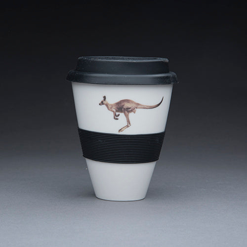 Porcelain Travel Cup - Roo