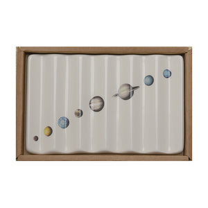 Soap Dish with Solar System