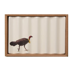 Soap Dish with Scrub Turkey