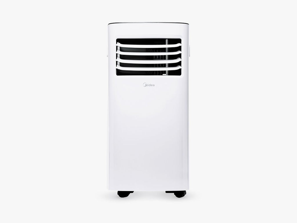 easy to install portable window type air conditioner with remote control midea ivory white philippines