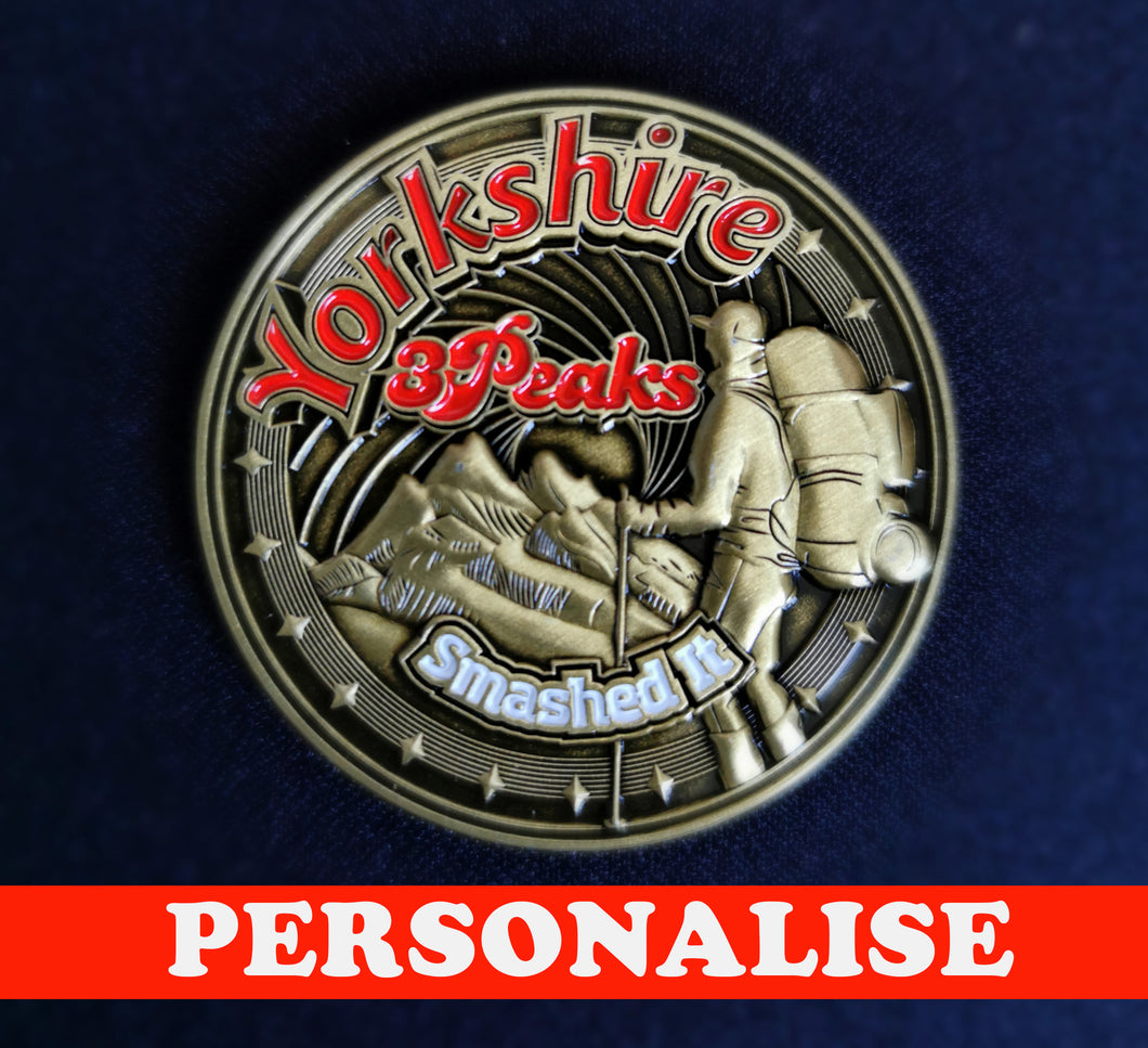 Yorkshire 3 Peaks - Achiever Coin