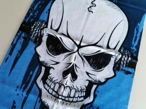 Blue Skull - Snood