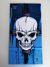Load image into Gallery viewer, Blue Skull - Snood