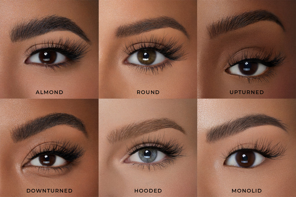 Milan in 3D Faux Mink Lashes on Eye Shapes