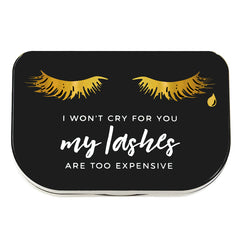 """I Won't Cry for You"" Lash Storage Case"