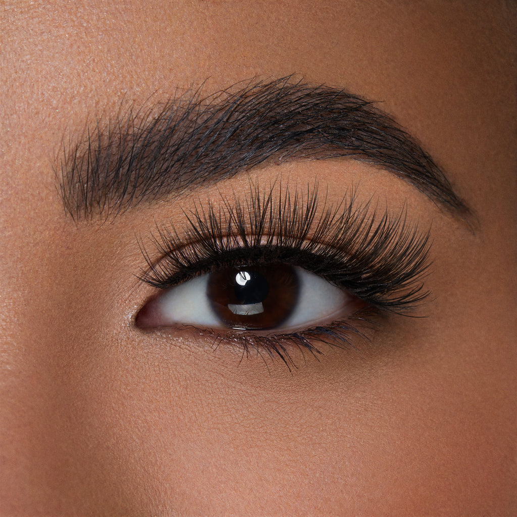 Lilly Lashes Luxury Synthetic Posh False Lash shown on almond eyeshape