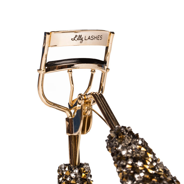 Bling On The Glam Eyelash Curler - Smoke