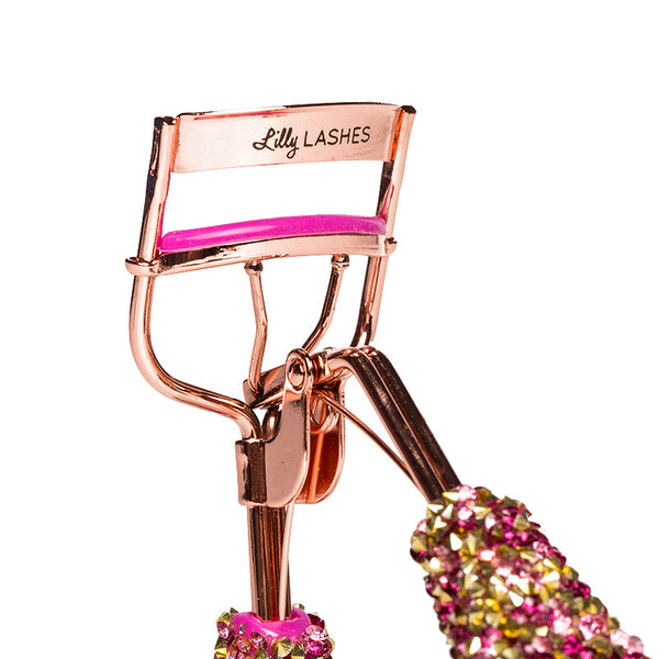 Bling On The Glam Eyelash Curler - Hot Pink