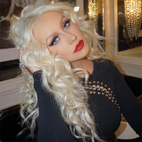Christina Aguilera in Caviar Lilly Lashes